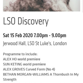 CONSTRUCTION 003 - to be performed by London Symphony Orchestra players!