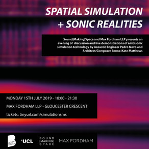 SPATIAL SIMULATION + SONIC REALITIES