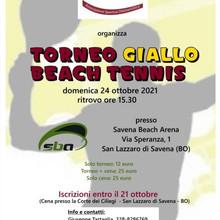 Torneo Giallo di Beach Tennis