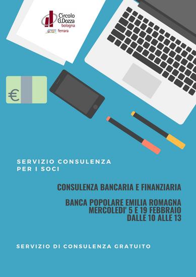 Servizio consulenza bancaria e finanziaria
