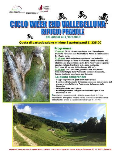 Ciclo Week End Vallebelluna