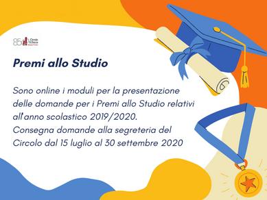 Premi allo Studio 2019/2020