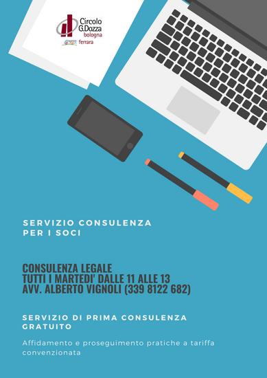 I servizi di consulenza attivi