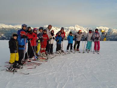Corso per ragazze e ragazzi di sci 2018