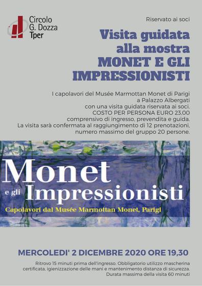 Visita guidata alla mostra Monet e gli Impressionisti