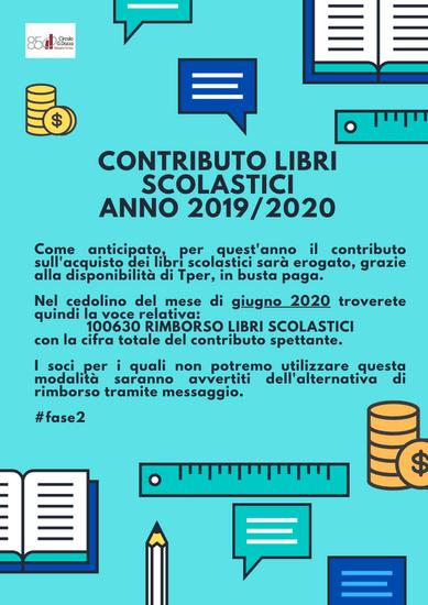 Contributo libri scolastici 2019/2020
