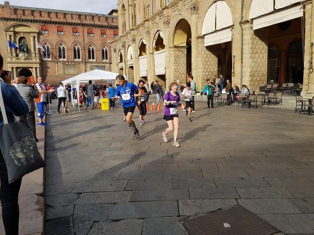 Piazza Maggiore atleti