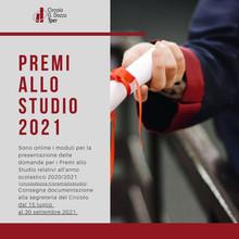 Premi allo studio 2021