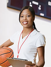 Female Basketball Coach