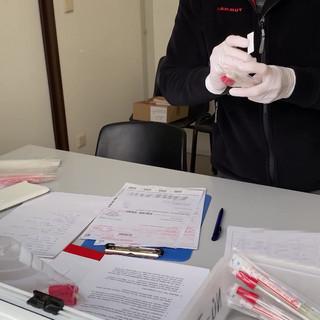 Coronavirus Test Drive In