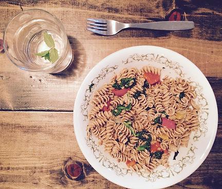 Vegetarian Almond Meal Pasta Recipe | Big Tree Organic Farms