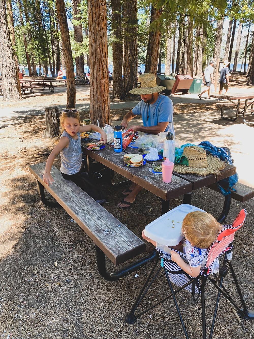 Pinecrest lake hike - nourish farm Turlock blog