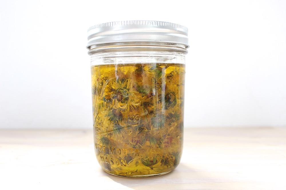 Calendula Infused Olive Oil | Sunkissed Botanics