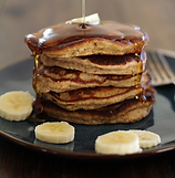 Almond Meal Banana Pancakes Recipe | Big Tree Organic Farms