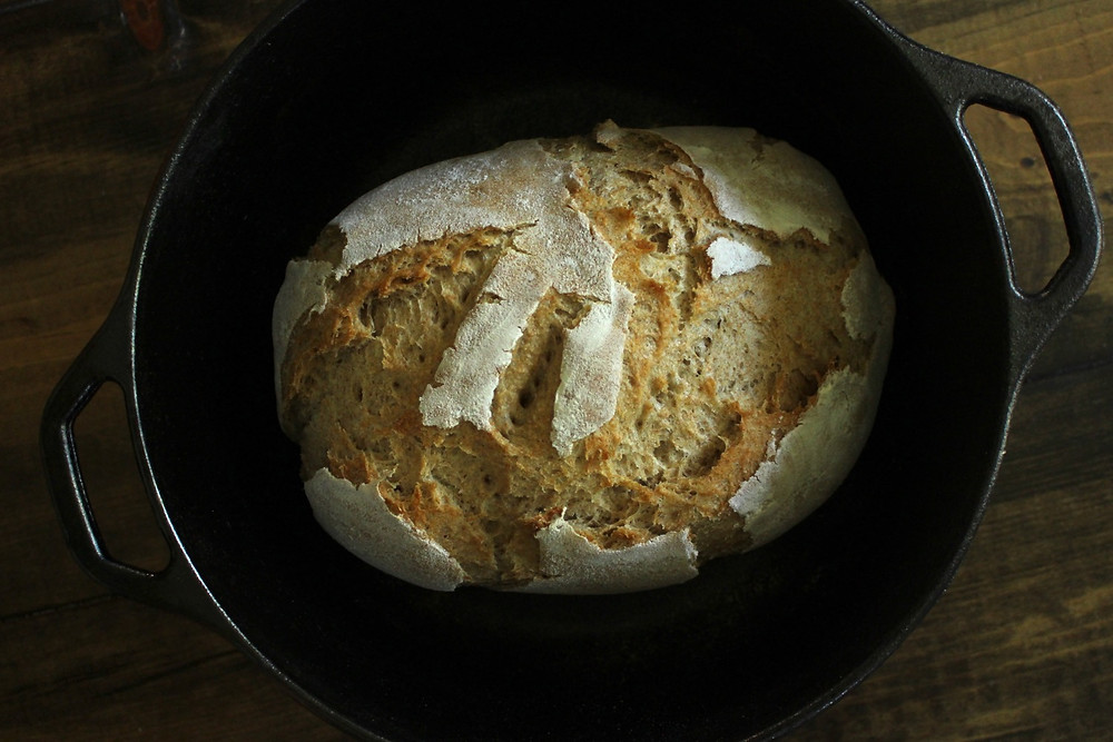 Simple Sourdough Recipe   Sunkissed Botanics Blog