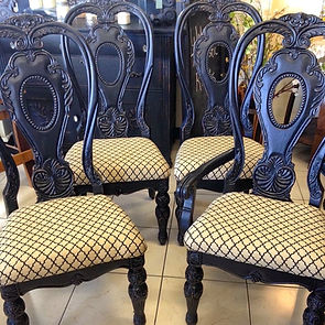 Restyled Vintage Dining Chairs | Rustic Roots Turlock