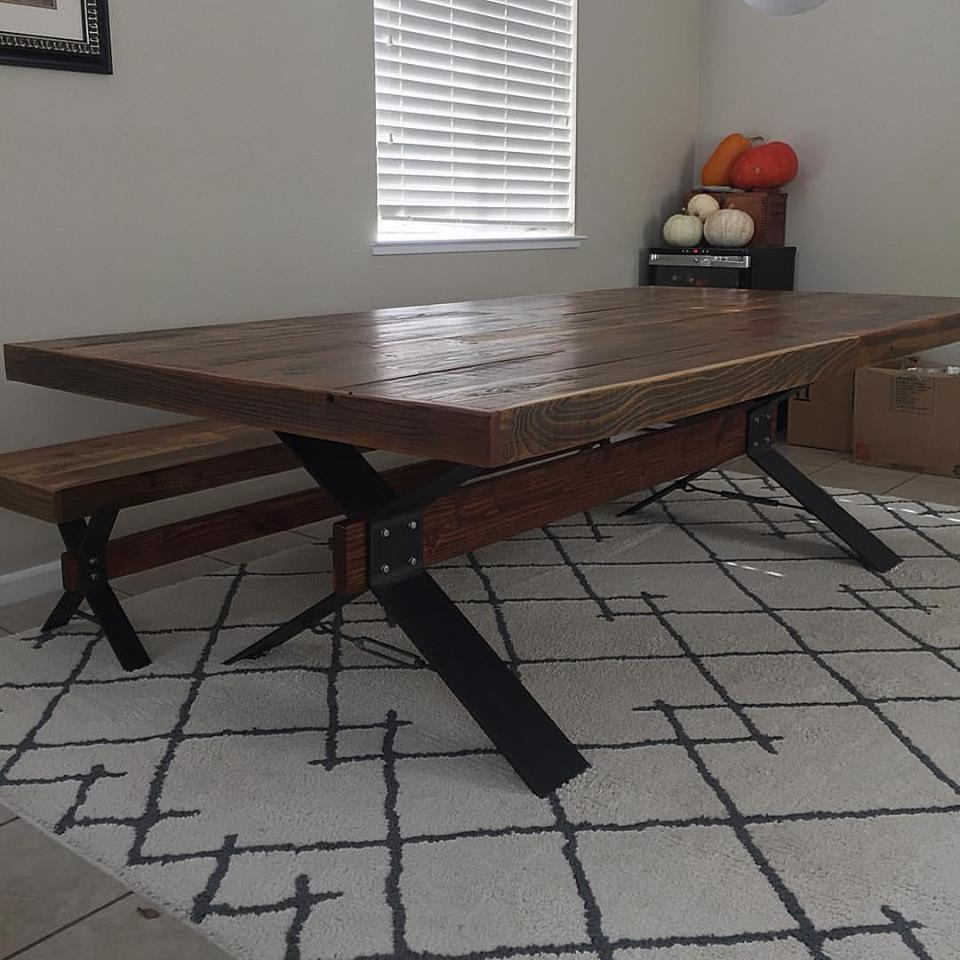 Custom Farm Table | Rustic Roots