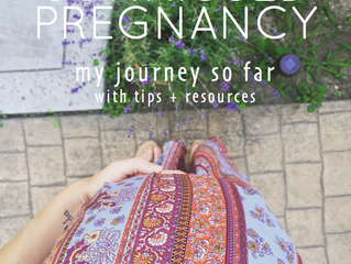 Sunkissed Pregnancy // My Journey so Far with Tips + Resources