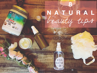 Sunkissed Beauty // 8 Natural Beauty Tips