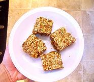 Chewy Almond Bar Recipe | Big Tree Organic Farms