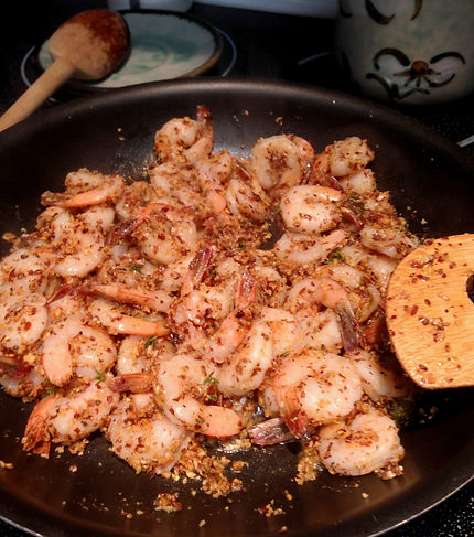 Almond Meal Fish + Shrimp Recipe | Big Tree Organic Farms