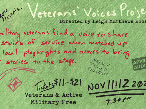 CAST LIST ANNOUNCEMENT!  Veterans' Voices Project 3