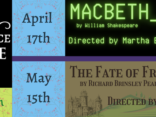 Announcing Majesticpiece Theatre 2021 Spring Season