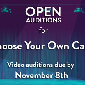 OPEN AUDITIONS - Choose Your Own Carol