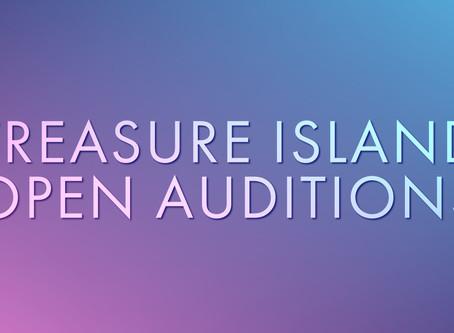 Majesticpiece Theatre presents Treasure Island Open Auditions!