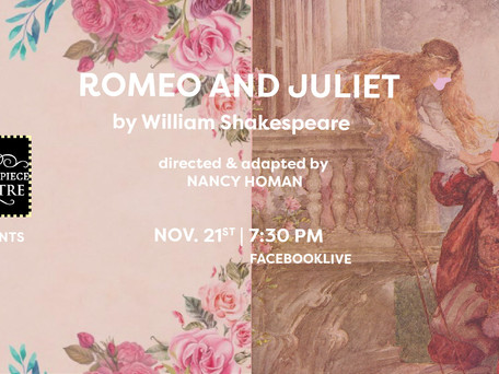OPEN AUDITIONS: Majesticpiece Theatre presents Romeo and Juliet by William Shakespeare