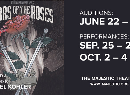 Wars of the Roses Open Auditions Rescheduled