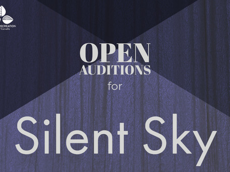 OPEN AUDITIONS: Majestic Readers' Theatre Company presents Silent Sky