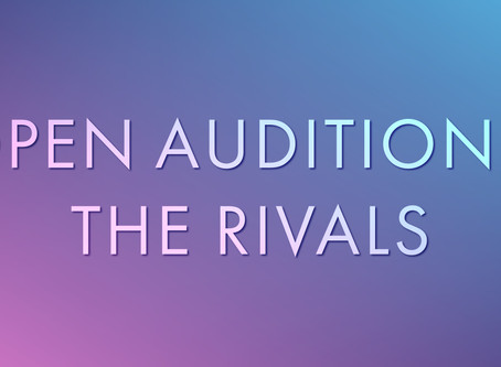 OPEN AUDITIONS: Majesticpiece Theatre presents The Rivals