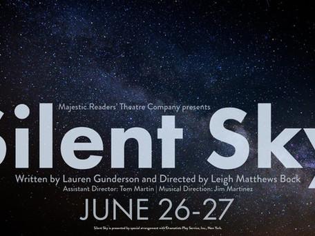 CAST LIST ANNOUNCEMENT!  Majestic Readers' Theatre Company presents Silent Sky