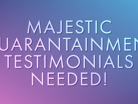 Video Testimonials Needed!