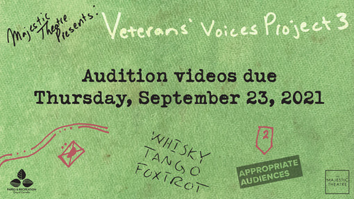 OPEN AUDITIONS: Veterans' Voices Project 3