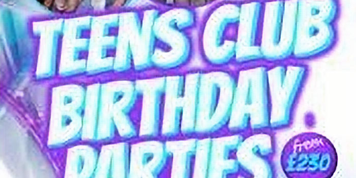 TEENS PARTY PACKAGES