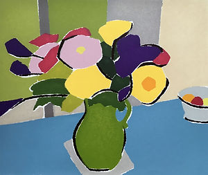 FLOWERS IN A GREEN JUG.jpg