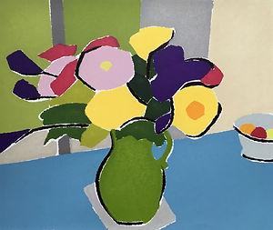 FLOWERS IN A GREEN JUG.jpg