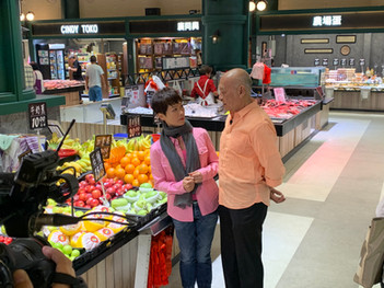 Hong Kong Market Media Shooting ( TVB : The Historic Grandpa Cooking Show)  香港街市傳媒拍攝(TVB - 阿爺廚房)