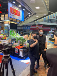 Hong Kong Market Media Shooting  (ViuTV)  香港街市傳媒拍攝(ViuTV)