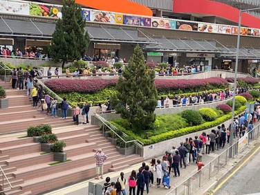 Hong Kong Market CSR Management (Free Mask Distribution)  香港街市企業社會責任管理 (免費口罩派發)