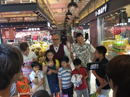 Hong Kong Market Media Shooting ( TVB)  香港街市傳媒拍攝(TVB)
