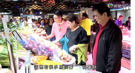 Hong Kong Market Media Shooting  (TVB)  香港街市傳媒拍攝(TVB)