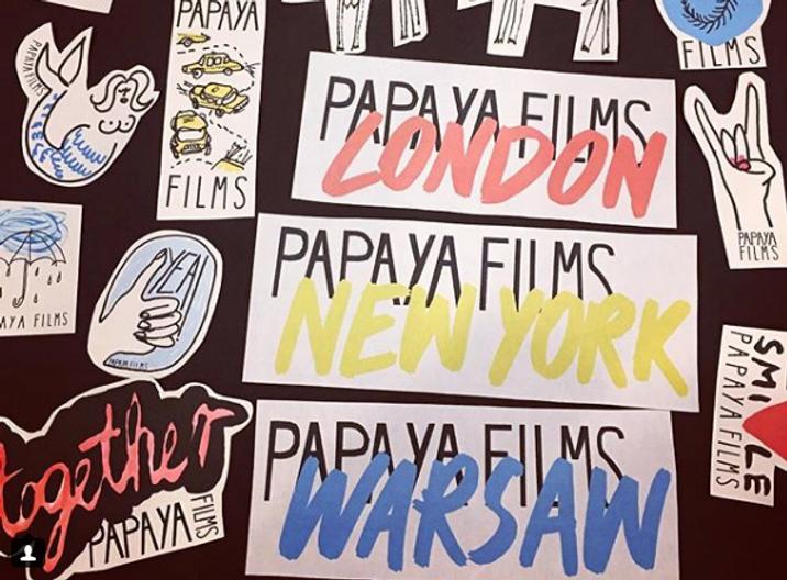Budka_Instagram photo Papaya stickers vo