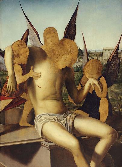 id 039. Antonello da Messina Cristo mort