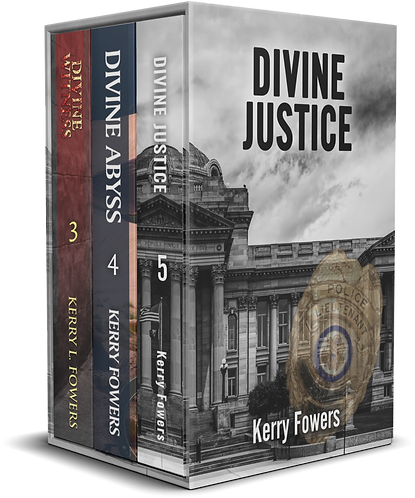 Divine Series books 3,4,and 5