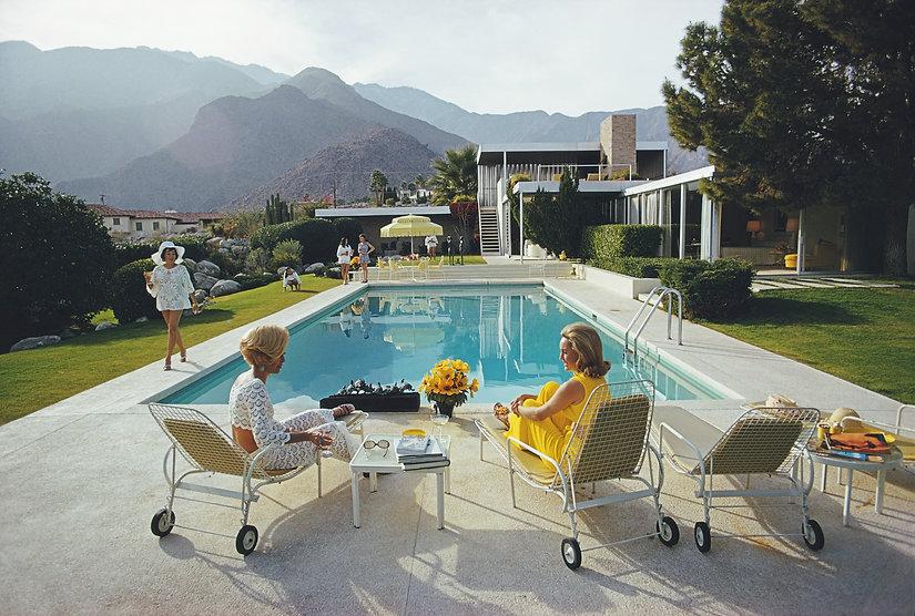 Poolside Gossip (Photo by Slim Aarons_Ge
