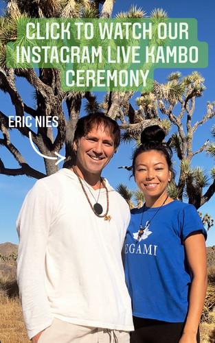 IG Live Kambo Ceremony