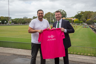 Jaaims partners with the Rabbitohs       for 2021